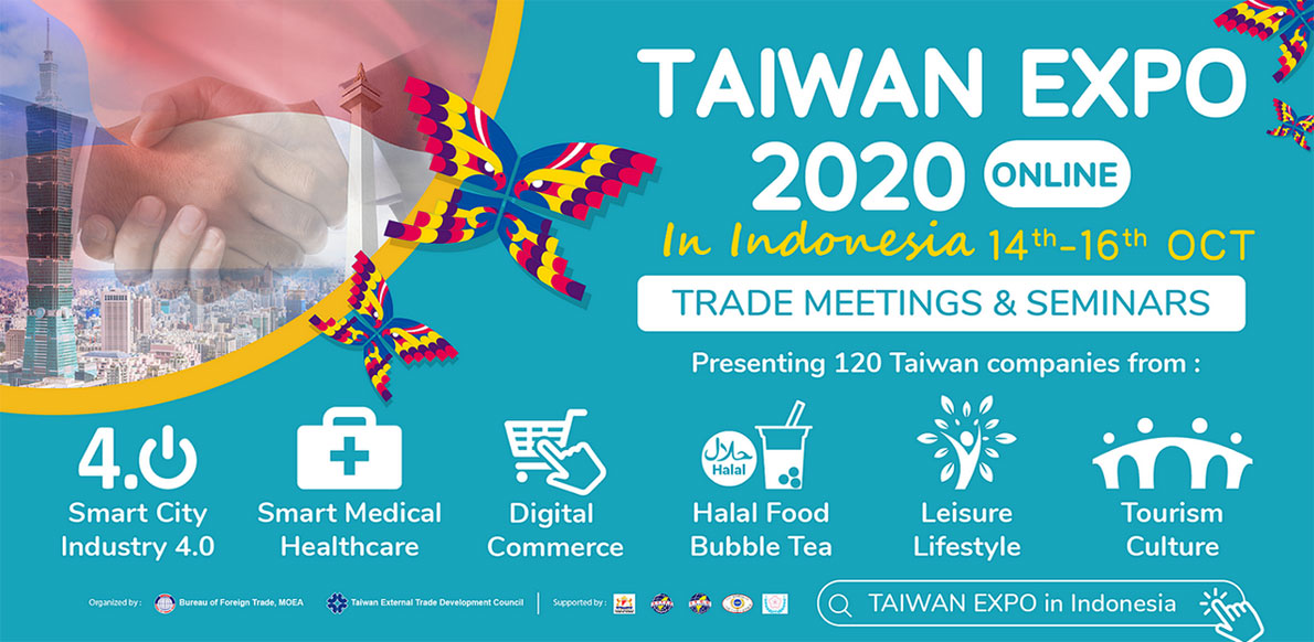 Taiwan Expo 2020 ( online ) in Indonesia (Great Auto Parts)